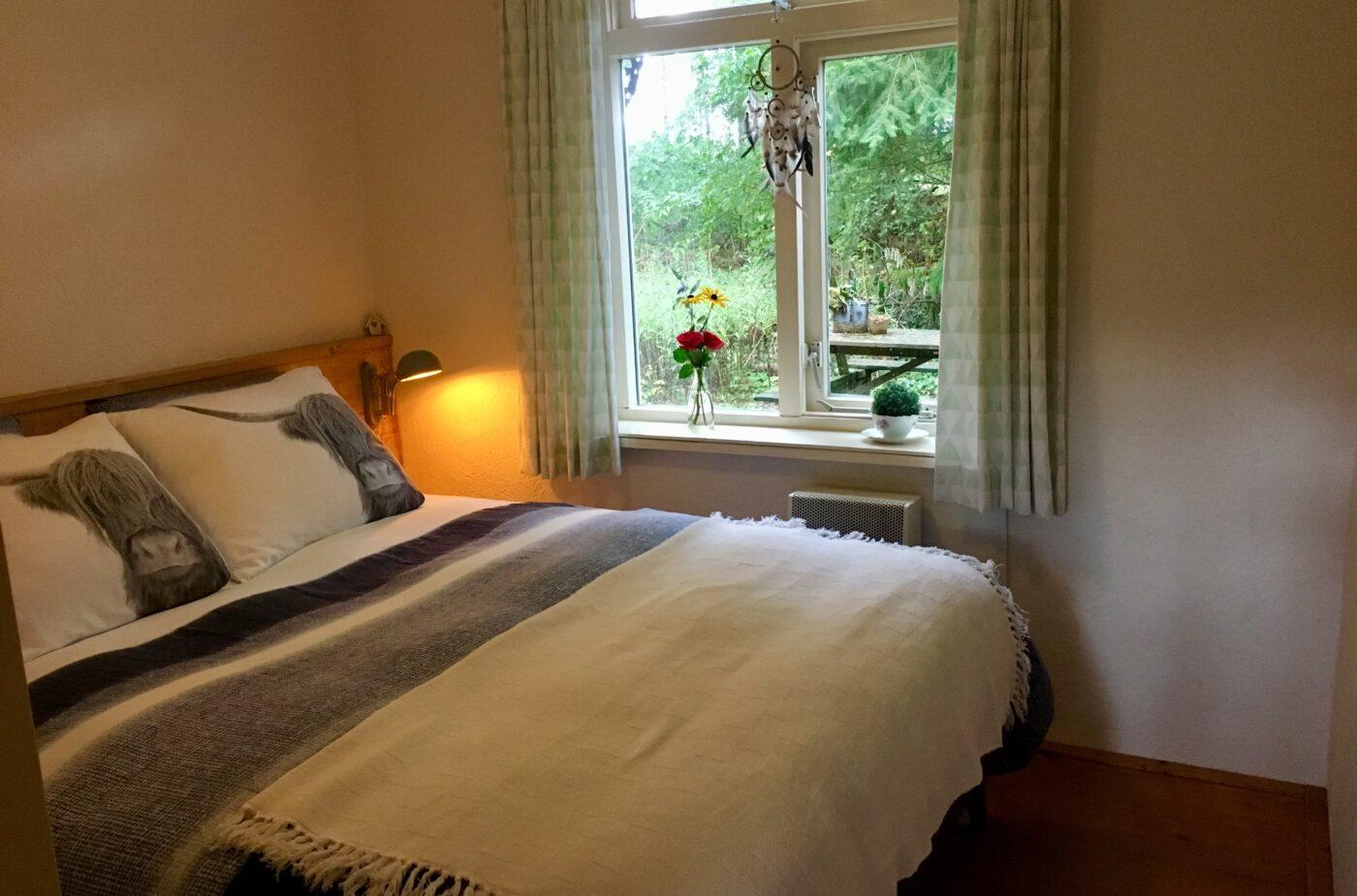 Slaapkamer Vakantiehuis Wabi Sabi
