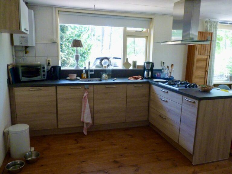 Keuken Vakantiehuis Wabi Sabi