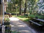 Uitzicht op de tuin Vakantiehuis Wabi Sabi