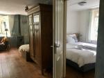 Woonkamer en slaapkamer